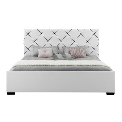 Hollywood Upholstered Platform Bed
