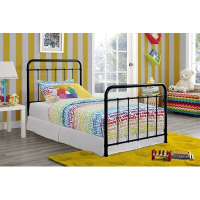 Daria Platform Bed Size: Twin, Color: Black