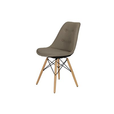 Albany Side Dining Chair Upholstery Color: Gray