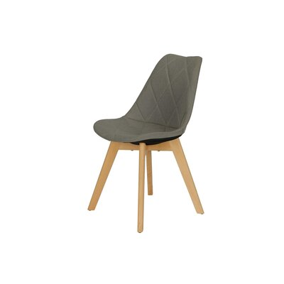 Brisbane Side Chair Upholstery Color: Gray
