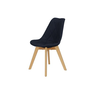 Brisbane Side Chair Upholstery Color: Navy