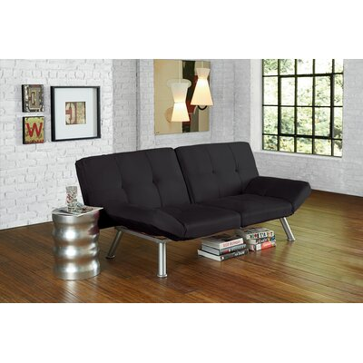Dudley Chrome Convertible Sofa