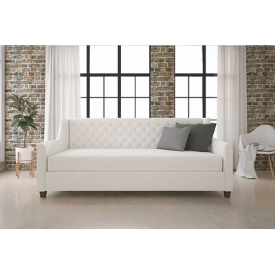 Pihu Tufted Upholstered Daybed