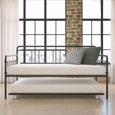 Truxton Twin Daybed Finish: Black