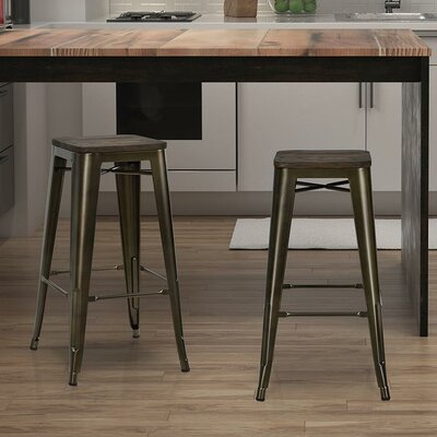 Fortuna 30 Bar Stool Finish: Bronze