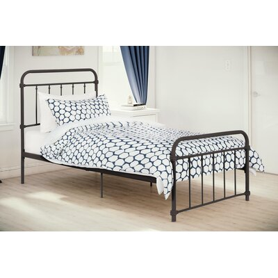 Tianna Platform Twin Bed Size: Twin, Finish: Bronze