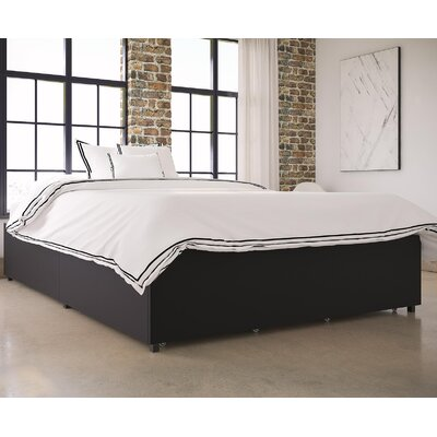 Maegan Upholstered Platform Bed Size: Queen