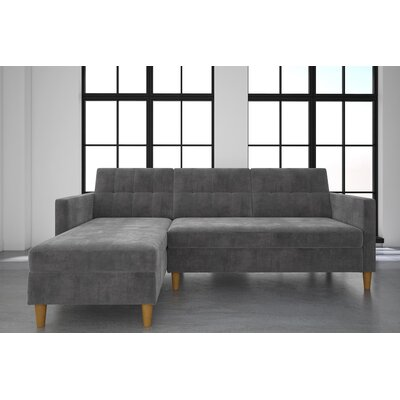 Brayden Studio BYST3299 Stigall Reversible Sleeper Sectional Upholstery