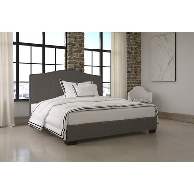 Karnes Upholstered Platform Bed Size: King