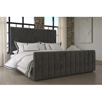 Dovercourt Upholstered Platform Bed Size: King