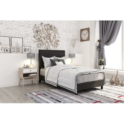 Pulliam Modern Upholstered Panel Bed Size: Queen