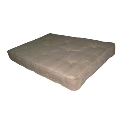 Independently Encased Coil Premium 8 Full Size Futon Mattress Color: Tan
