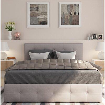 Houchins Upholstered Storage Platform Bed Size: Queen