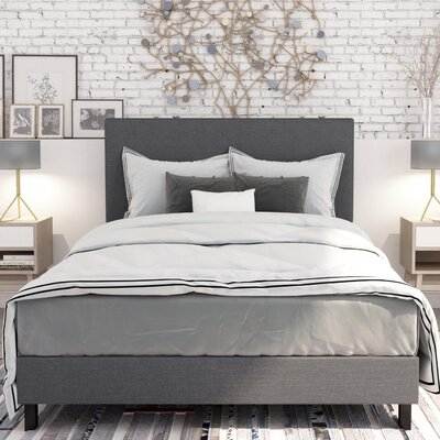 Pulliam Upholstered Panel Bed Size: Full