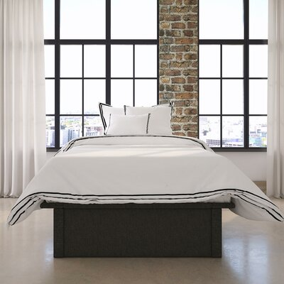 Armani Upholstered Platform Bed Size: Twin