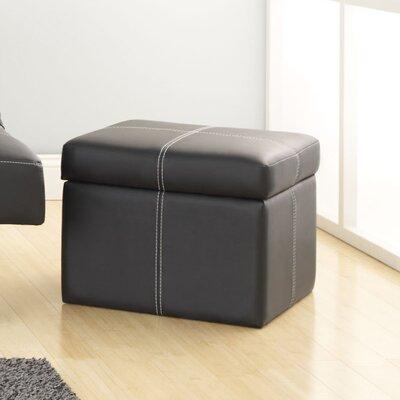 Delaney Ottoman Color: Black
