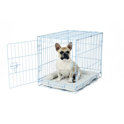 Deluxe Pet Crate Color: Blue