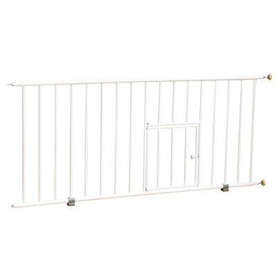 Mini Pet Gate with Pet Door