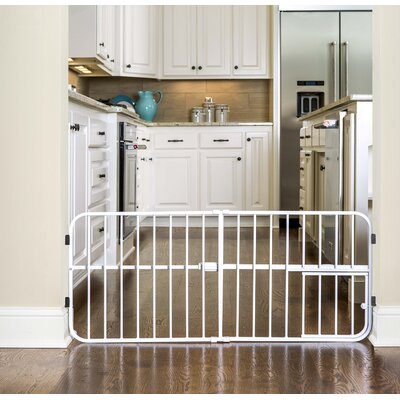 Expandable Pet Gate Size: Mini Tuffy (18 H x 26-42 W x 1 D)