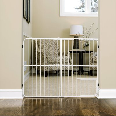 """Expandable Pet Gate Size: Extra Tall (32"""" H X 26-42"""" W X 1"""" D)"""