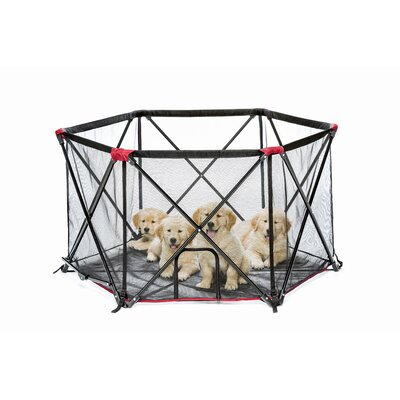Pet Dog Pen Size: 26 H x 48 W x 48 D