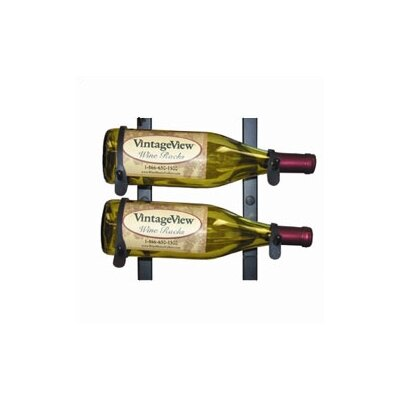 2 Bottle Wall Mounted Wine Rack