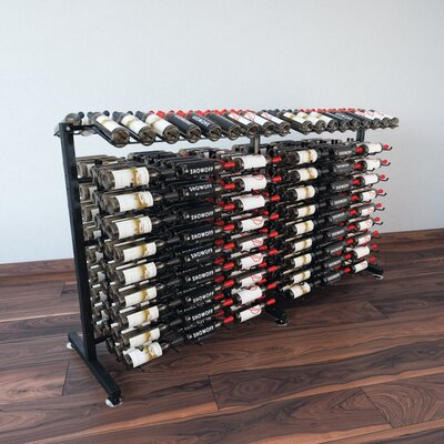 IDR Series 360 Bottle Floor Wine Rack Extension Finish: Black
