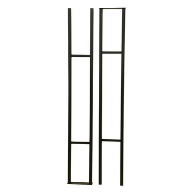 Wall Series Floor and Hanging Wine Bottle Rack Finish: Black