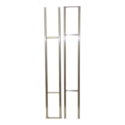 Wall Series Floor and Hanging Wine Bottle Rack Finish: Brushed Nickel