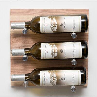9 Bottle Metal Wall Mounted Wine Rack