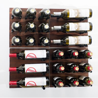 Grain and Rod 30 Bottle Wall Mounted Wine Rack