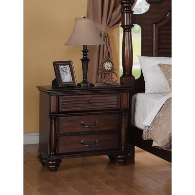 Greystone Key West 2 Drawer Nightstand