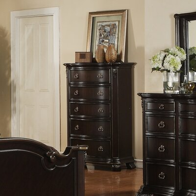 No credit check financing Harper 5 Drawer Standard Chest...
