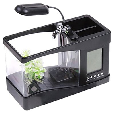Digital Desktop Aquarium Kit Color: Black