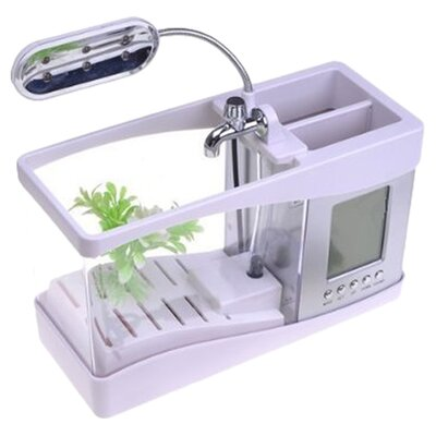 Digital Desktop Aquarium Kit Color: White