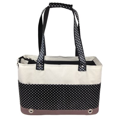 Kadoka Fashion Tote Spotted Pet Carrier