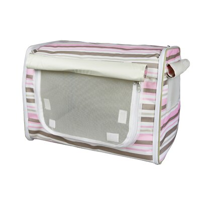 Lightweight Collapsible Zippered Easy Pet Crate Size: Medium (20.5 H x 20.5 W x 27.5 L)