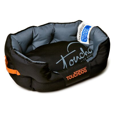Performance-Max Sporty Dog Bed Size: Medium (25.6 L x 15.7 W), Color: Black