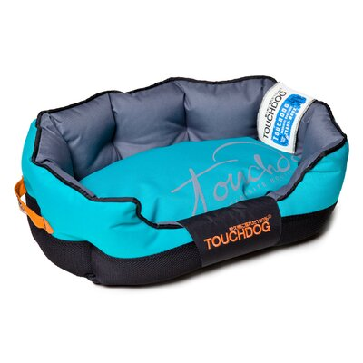 Performance-Max Sporty Dog Bed Size: Medium (25.6 L x 15.7 W), Color: Blue