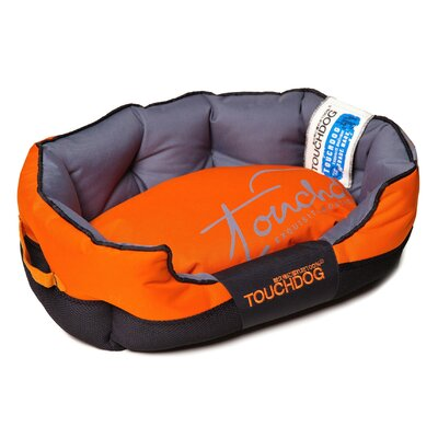 Performance-Max Sporty Dog Bed Size: Medium (25.6 L x 15.7 W), Color: Orange