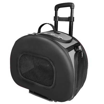 Ravinia Pet Carrier Color: Black