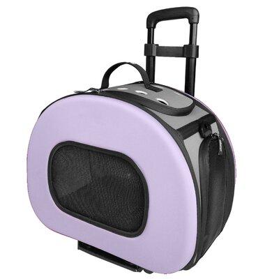 Ravinia Pet Carrier Color: Purple