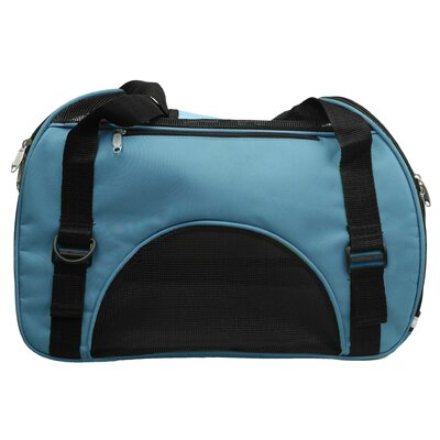 Turton Pet Carrier Size: Large (13 H x 9.6 W x 21 L), Color: Blue
