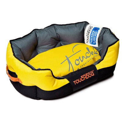 Performance-Max Sporty Dog Bed Size: Medium (25.6 L x 15.7 W), Color: Yellow
