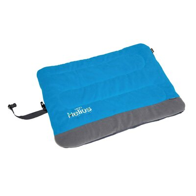 Combat-Terrain Outdoor Cordura-Nyco Travel Folding Dog Bed Size: Extra Large (39.4 L x 29.6 W), Color: Blue