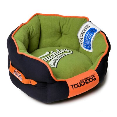 Original Castle-Bark Ultimate Rounded Premium Dog Bed Size: Large (25.4 L x 22.1 W), Color: Green