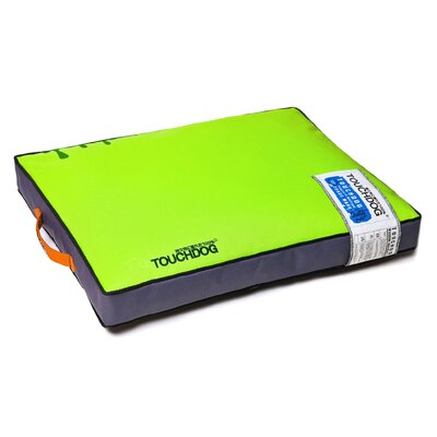 Surface-Control Reversible Thick Cushioned Travel Sporty Dog Mat Size: Extra Large (35.3 L x 23.7 W), Color: Green