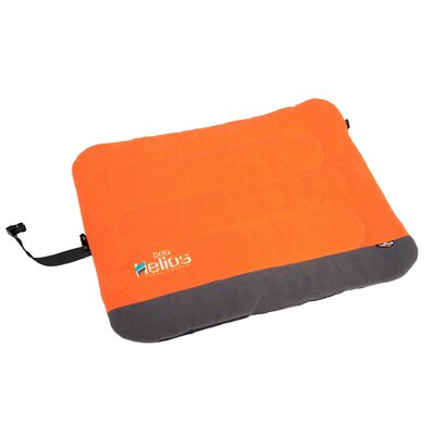 Combat-Terrain Outdoor Cordura-Nyco Travel Folding Dog Bed Size: Large (35.6 L x 25.6 W), Color: Orange