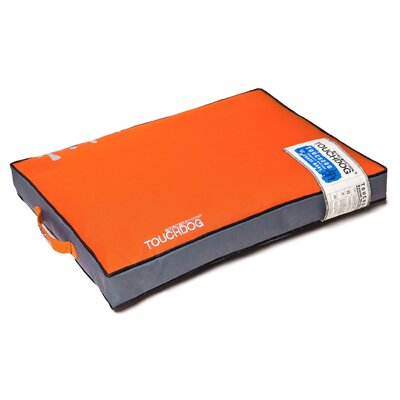 Surface-Control Reversible Thick Cushioned Travel Sporty Dog Mat Size: Extra Large (35.3 L x 23.7 W), Color: Orange