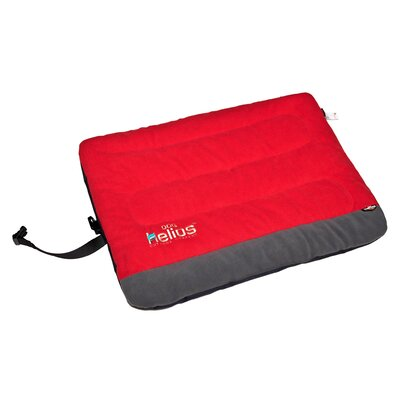 Combat-Terrain Outdoor Cordura-Nyco Travel Folding Dog Bed Size: Extra Large (39.4 L x 29.6 W), Color: Red